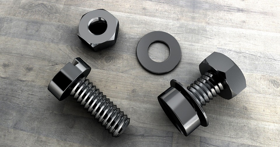 Types of Industrial Fasteners