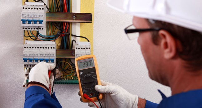 What does the electrician do and what are his duties
